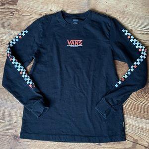 VANS checkerboard long sleeve
